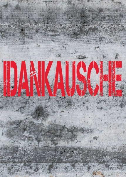 """Postkarte groß schwäbisch """"Idankausche"""""""